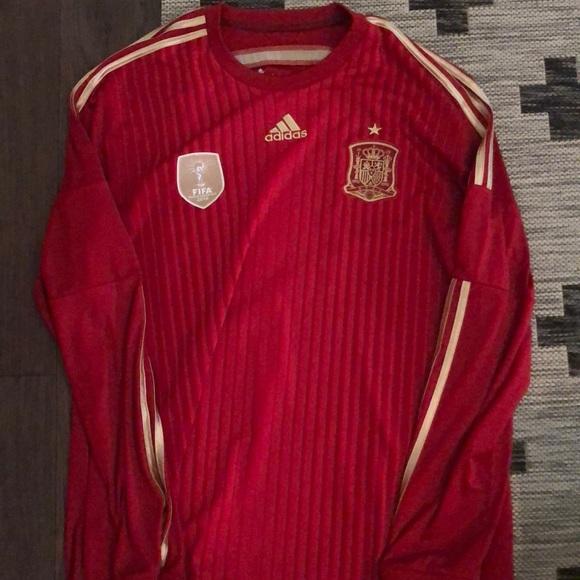 72fff95710d adidas Shirts | Spain World Cup Jersey Home | Poshmark